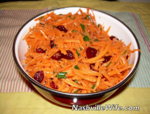 Meatless Monday: Carrot Salad