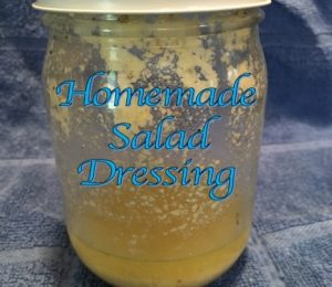 Homemade Salad Dressing (with Parmesan Cheese)
