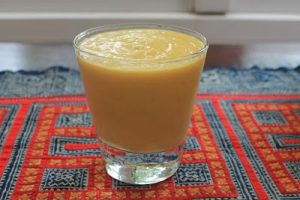 Frosted Orange Smoothie Recipe