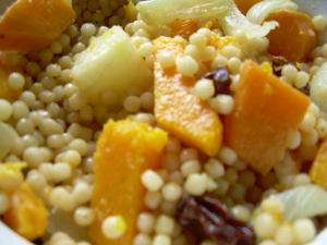 Thanksgiving Side Dish: Butternut Squash Couscous