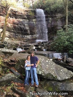 Rainbow Falls Gatlinburg Tennessee