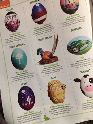 Food Network Magazine United States of Easter Eggs