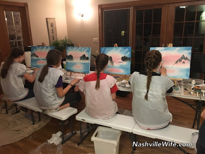 oil painting lesson