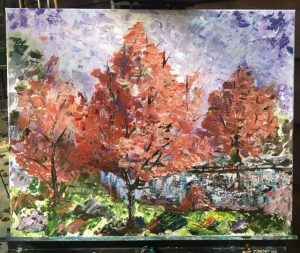 fall impressionist painting