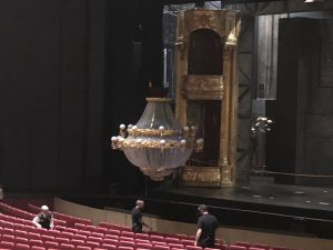 The Phantom of the Opera chandelier