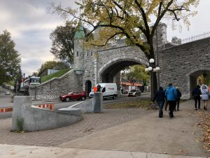 Old Quebec City Ramparts