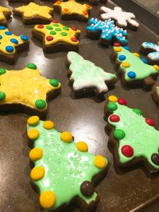Holiday Baking Gingerbread Cookies And Royal Icing Nashville Wife