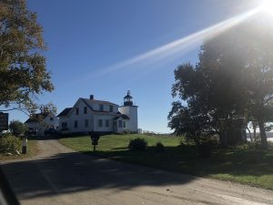 Fort Point Lighthouse Stockton Springs Maine