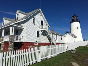Pemaquid Point Lighthouse in Bristol, Maine