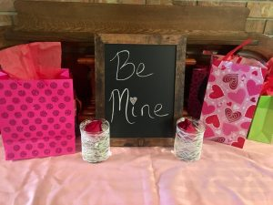 Valentine's Day bridal shower
